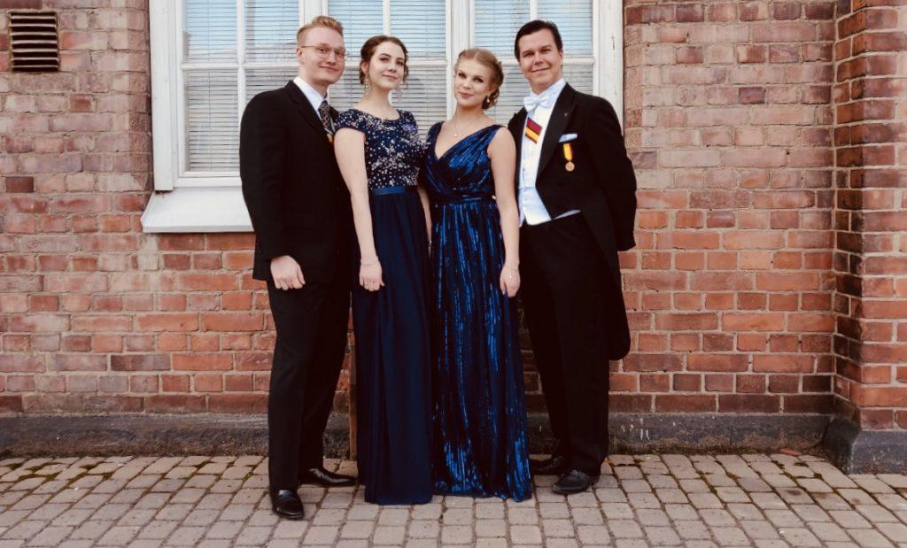 Board of NESU Finland 2018-19