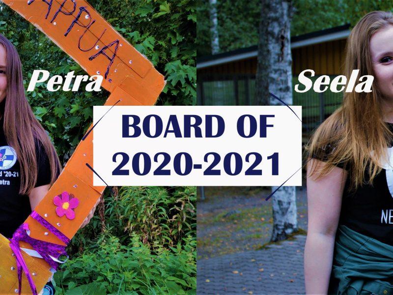 All Aboard: Board of 2020-2021 (Part 2/3)