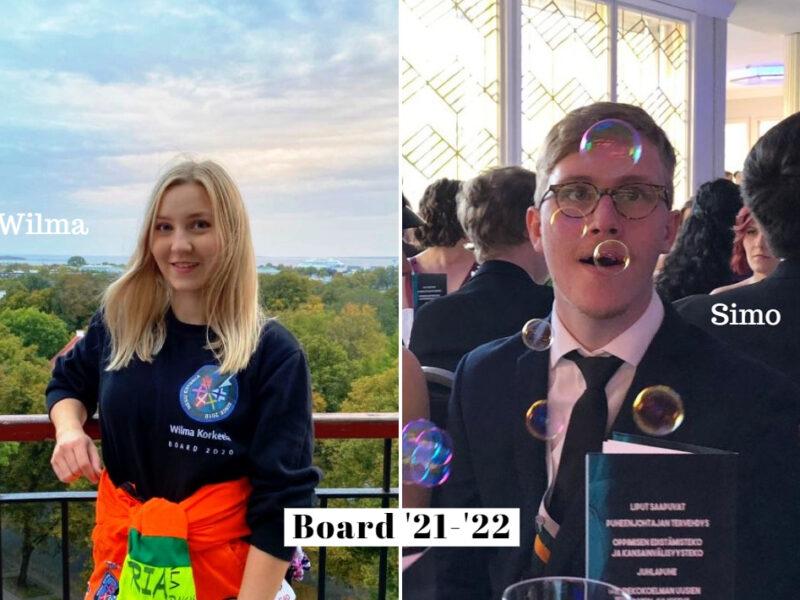 The New NESU Finland Board (2 of 3)